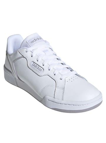 "Adidas Leder-Sneakers ""Roguera"" in Weiß"