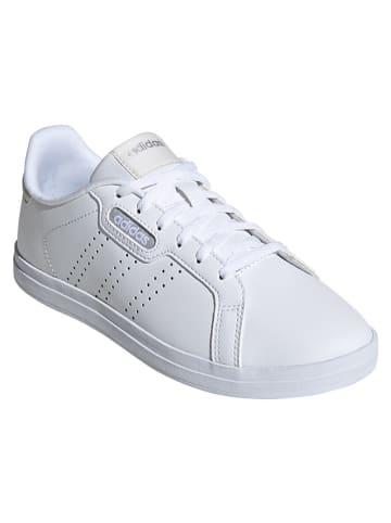 """Adidas Sneakersy """"Courtpoint"""" w kolorze białym"""