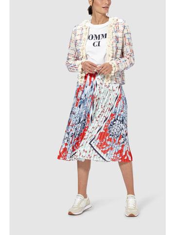 Rich & Royal Spódnica plisowana ze wzorem
