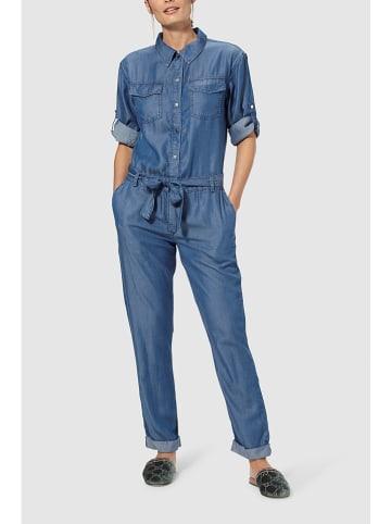 Rich & Royal Dżinsowy kombinezon w kolorze niebieskim