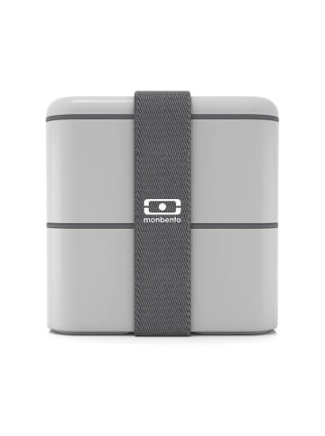 "Monbento Lunchbox ""Square"" lichtgrijs - 800 ml"