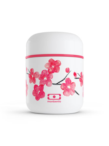 """Monbento Thermobehälter """"Capsule"""" in Rot/ Weiß - 280 ml"""