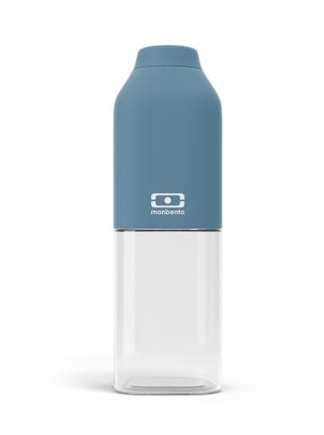 "Monbento Butelka ""Positive"" w kolorze niebieskim - 500 ml"