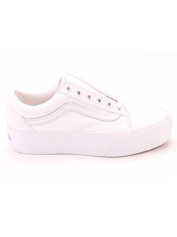 """Vans Sneakers """"UA Old Skool Platform"""" wit"""