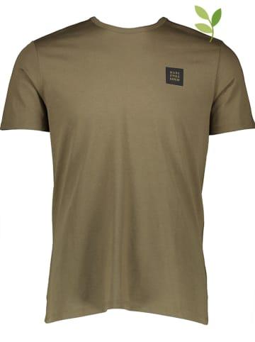 Marc O'Polo DENIM Koszulka w kolorze oliwkowym