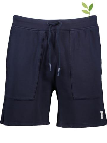 Marc O'Polo DENIM Sweatshort donkerblauw