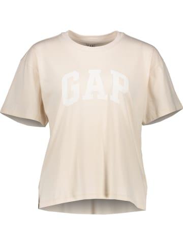 GAP Koszulka w kolorze beżowym