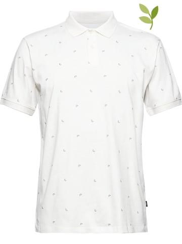 ESPRIT Koszulka polo w kolorze białym