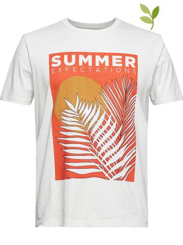 ESPRIT Koszulka w kolorze kremowym