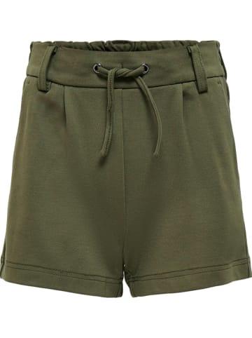 """KIDS ONLY Shorts """"Poptrash"""" in Khaki"""