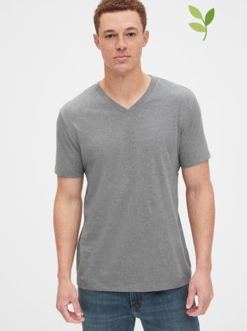 GAP Koszulka w kolorze jasnoszarym
