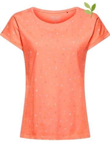 ESPRIT Koszulka w kolorze pomarańczowym