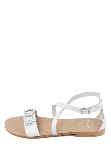 Romy B Leren sandalen wit