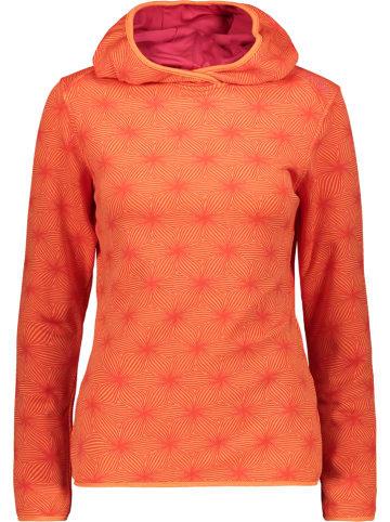 CMP Bluza polarowa w kolorze pomarańczowym