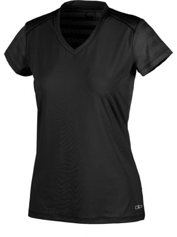 CMP Trainingsshirt in Schwarz