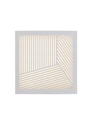 Nordlux LED-wandlamp wit - (B)18 x (H)18 cm