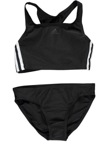 """Adidas Bikini """"3-Stripes"""" w kolorze czarnym"""
