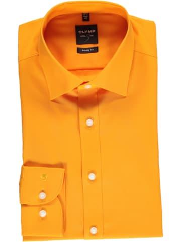 "OLYMP Blouse ""Level 5"" - body fit - oranje"