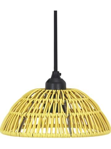 "PR Home Hanglamp ""Hue"" geel - (H)12 x Ø 30 cm"
