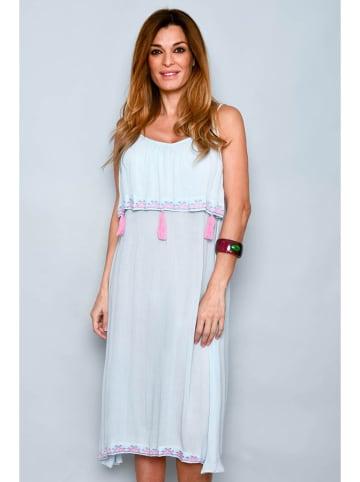Tarifa Sukienka w kolorze jasnoniebieskim