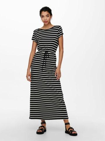 """ONLY Sukienka """"Onlmay Life"""" w kolorze czarno-białym"""