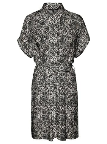 """Vero Moda Sukienka """"EASY"""" w kolorze antracytowo-jasnobrązowym"""
