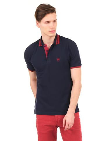 Ron Tomson Poloshirt donkerblauw