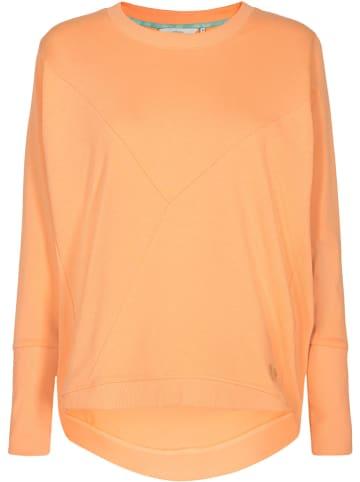 """NÜMPH Sweatshirt """"Nunikola"""" in Orange"""