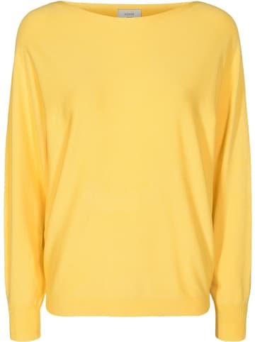 """NÜMPH Sweter """"Nudaya"""" w kolorze żółtym"""