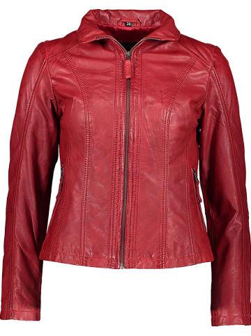 KRISS Leren jas rood