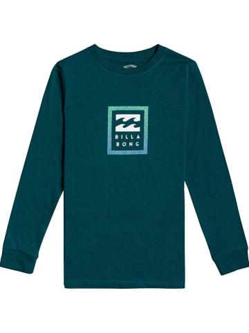 "Billabong Koszulka ""Unity"" w kolorze morskim"