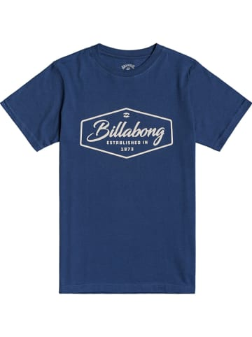 "Billabong Koszulka ""Trademark"" w kolorze niebieskim"