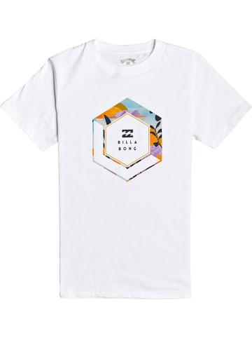 "Billabong Koszulka ""Access"" w kolorze białym"