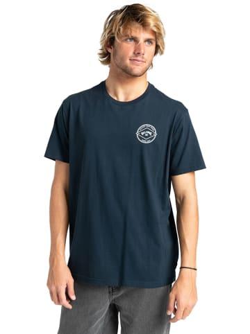 "Billabong Koszulka ""Rotor Arch"" w kolorze granatowym"