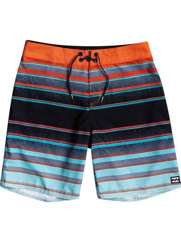 """Billabong Szorty kąpielowe """"All Day Stripes"""" ze wzorem"""