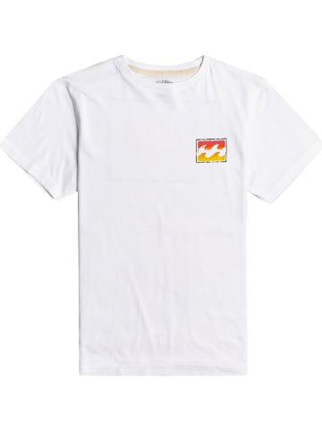 "Billabong Koszulka ""Unity Paint"" w kolorze białym"