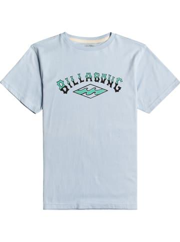 "Billabong Koszulka ""Arch"" w kolorze błękitnym"