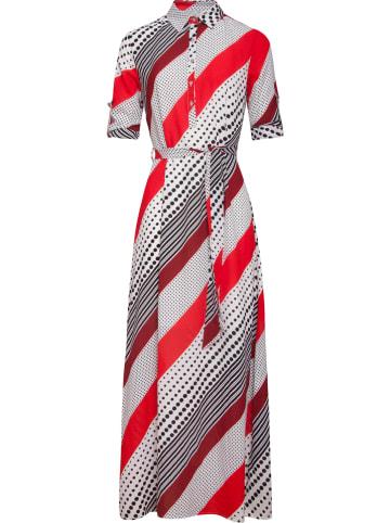 Smashed Lemon Sukienka w kolorze biało-czerwono-czarnym