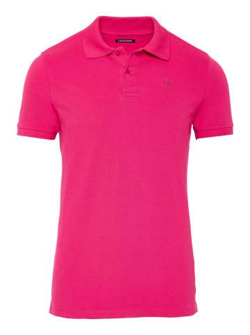 """Chiemsee Koszulka polo """"Marsa"""" w kolorze różowym"""