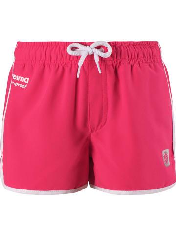 """Reima Szorty """"Oceanspray"""" w kolorze różowym"""