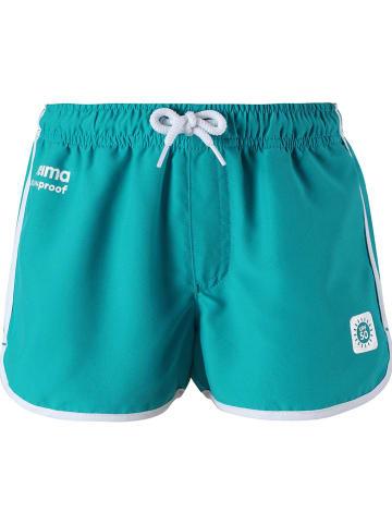 """Reima Szorty """"Oceanspray"""" w kolorze zielono-niebieskim"""