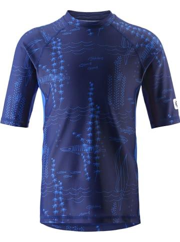 """Reima Koszulka kąpielowa """"Fiji"""" w kolorze granatowym"""