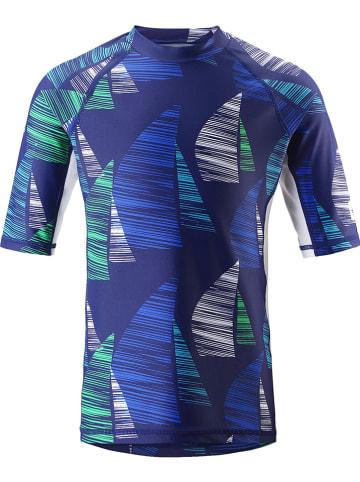 """Reima Koszulka kąpielowa """"Fiji"""" w kolorze niebiesko-granatowym"""