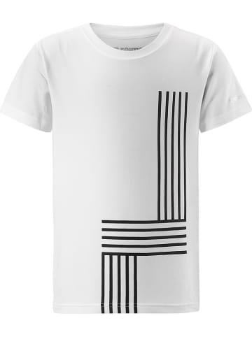 """Reima Koszulka funkcyjna """"Speeder"""" w kolorze białym"""