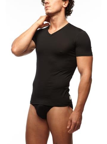COTONELLA Koszulka w kolorze czarnym