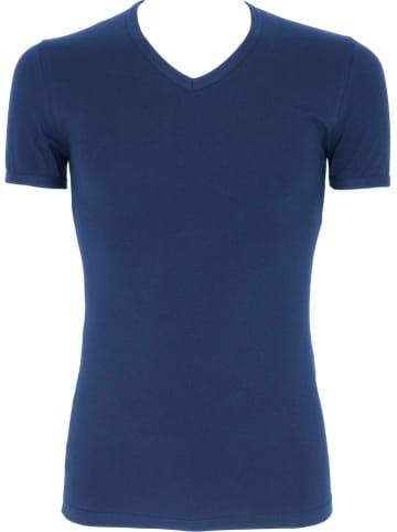 COTONELLA Koszulka w kolorze niebieskim