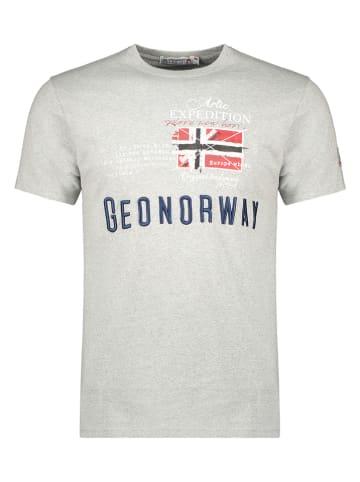 "Geographical Norway Shirt ""Jason"" in Grau"