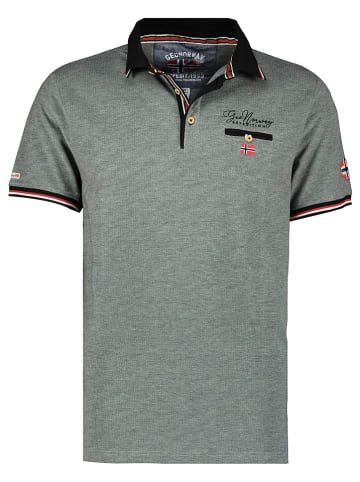 """Geographical Norway Poloshirt """"Kblended"""" grijs"""