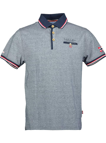 """Geographical Norway Poloshirt """"Kblended"""" in Dunkelblau"""