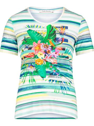 Betty Barclay Koszulka w kolorze zielonym ze wzorem